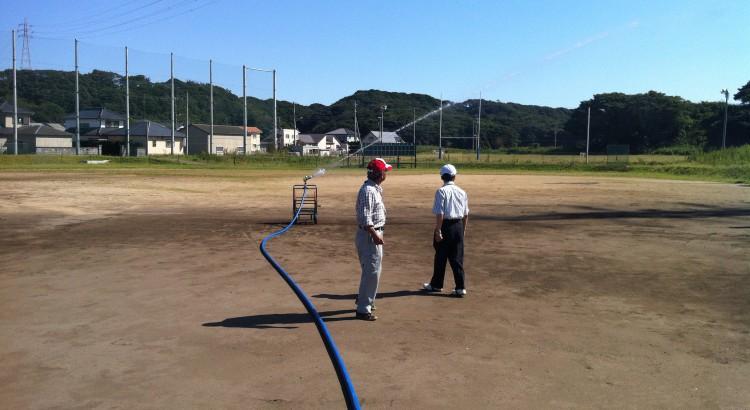 銚子市立高校 野球グランド 001